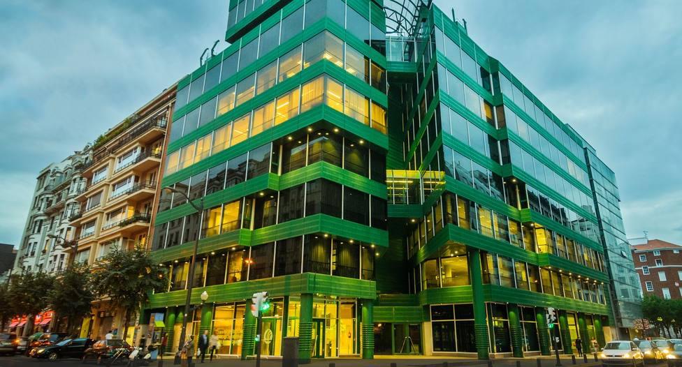 Edificio Cámara, sede de la cámara de comercio en Bilbao