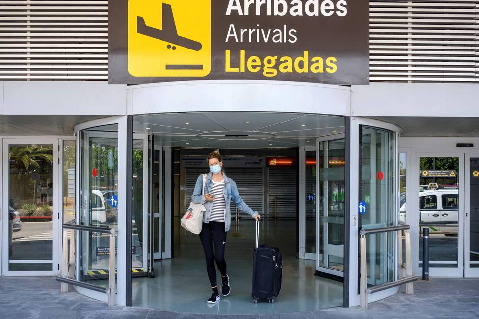 Ibiza recibe a los primeros turistas desde el inicio de la pandemia