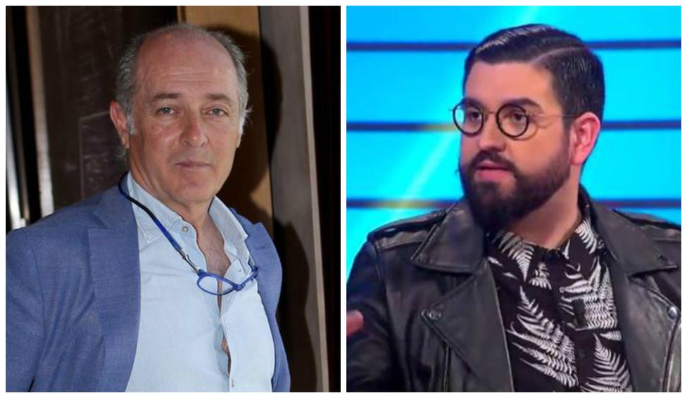 """El 'dardo' de José Manuel Soto con el que """"ilumina"""" al humorista Manu Sánchez: """"Ambos los paró un rey…"""""""