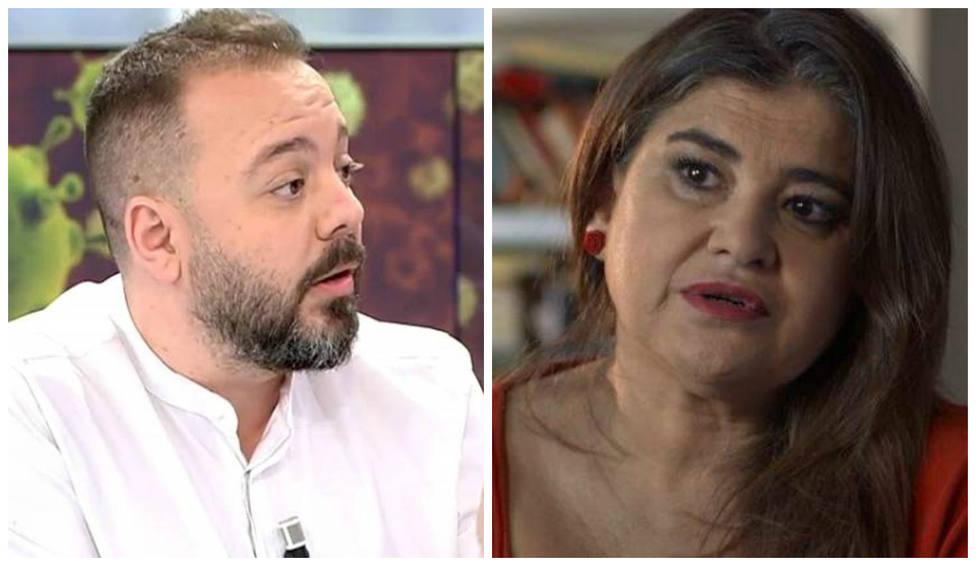 Antonio Maestre y Lucía Etxebarria se enzarzan a cuenta del chalé de Iglesias: No hagas más el ridículo