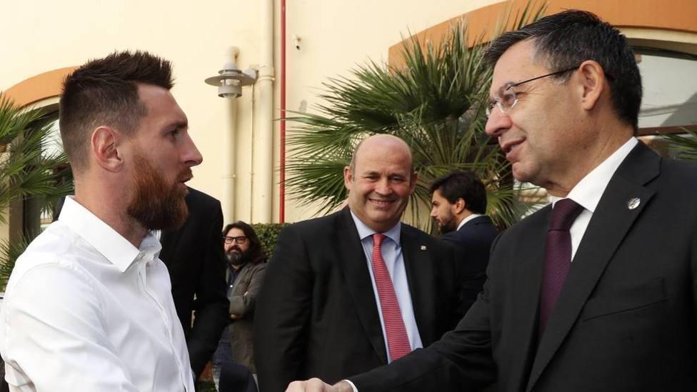 Messi no se fía de la directiva del FC Barcelona