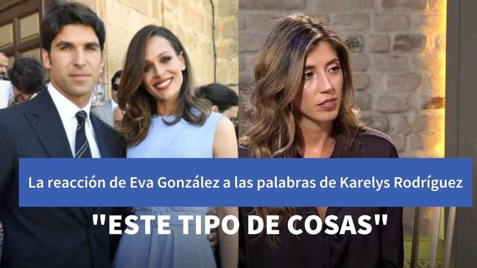 Eva González habla por primera vez tras las palabras de Karelys Rodríguez en Viva la Vida