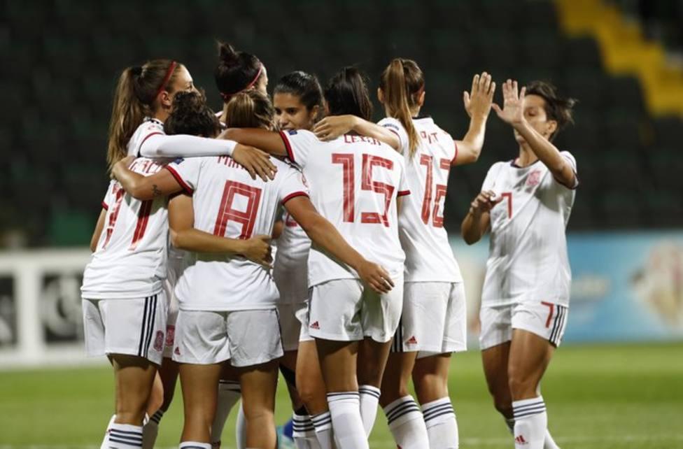 España golea 0-9 a Moldavia y dedica la victoria a Virginia Torrecilla