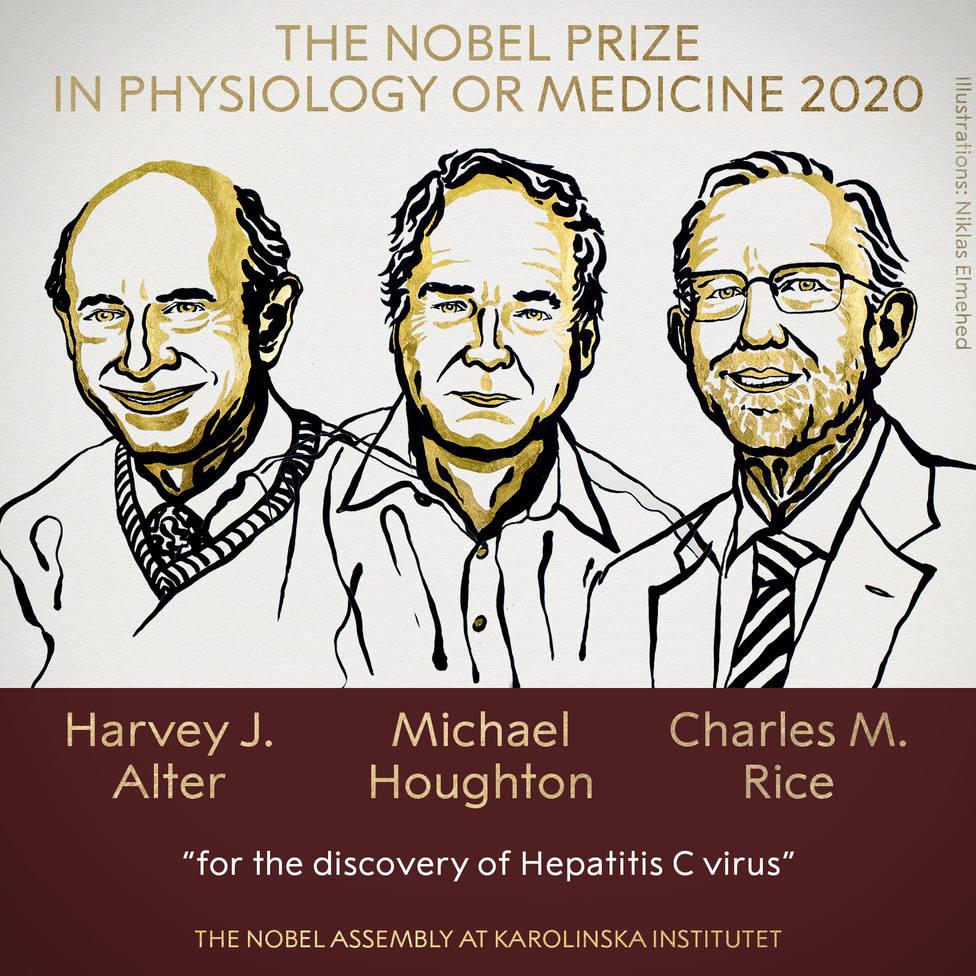 Los descubridores del virus de la Hepatitis C, Premio Nobel de Medicina 2020