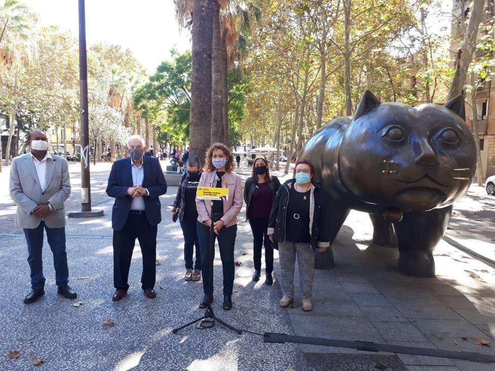 Capella (ERC) afirma que España conmemora un genocidio el 12-O y debe pedir perdón