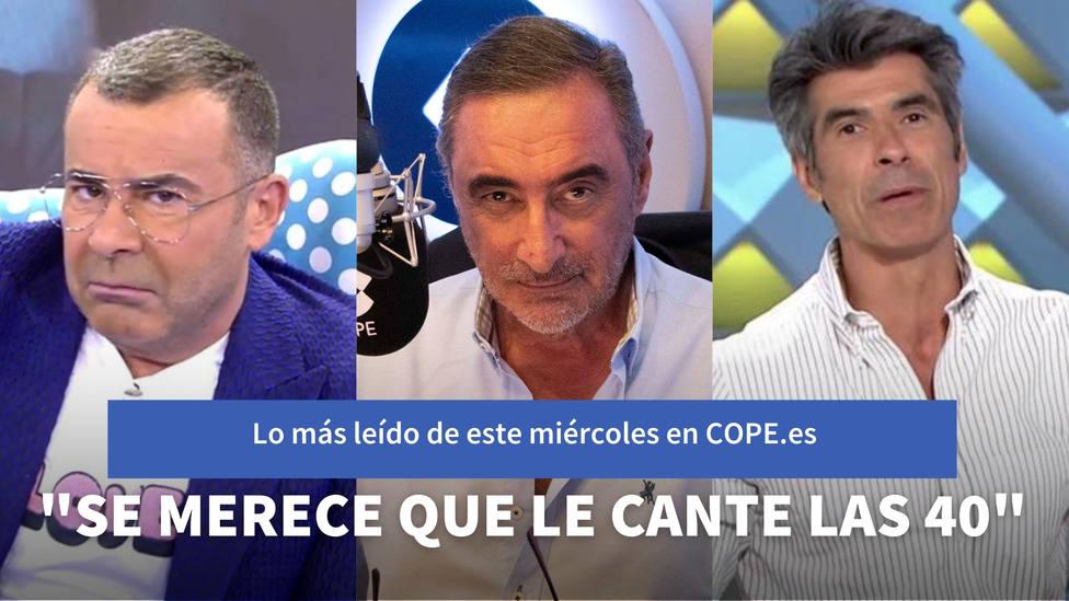 El repaso de Herrera a Sánchez por la moción de censura de Vox, entre lo más leído de este miércoles