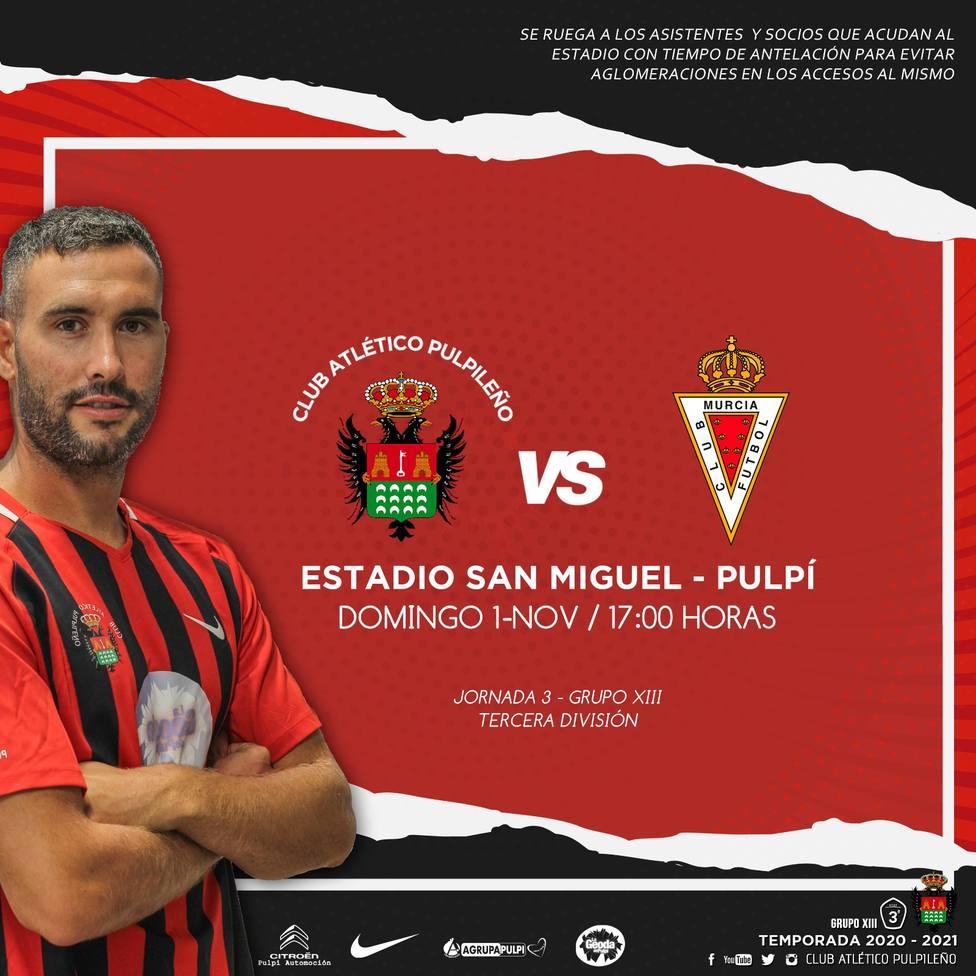 El Atlético Pulpileño quiere su primera victoria en casa