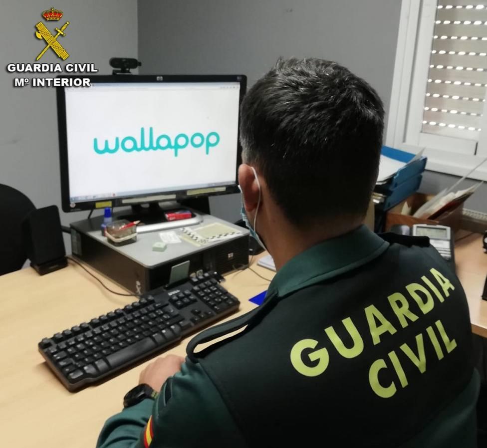 Foto cedida por la Guardia Civil