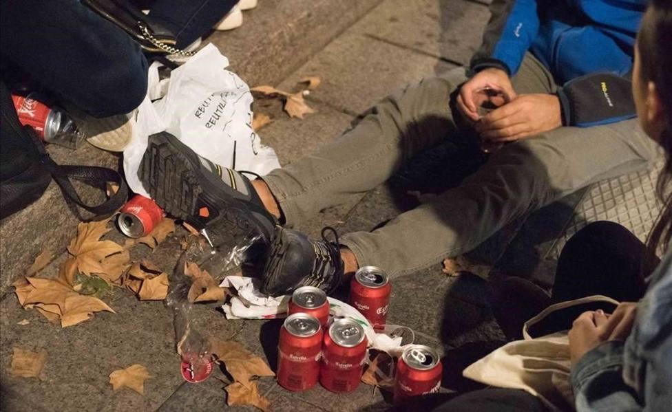 El botellón es la principal causa de las denuncias en Logroño por incumplir la normativa de la COVID-19
