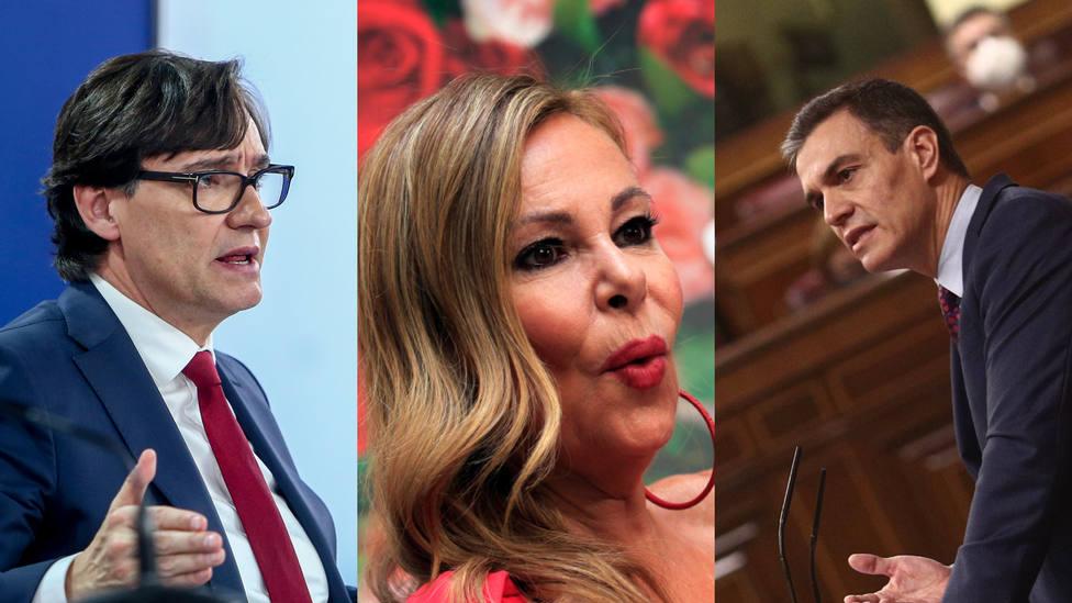 Ana Obregón atiza a Sánchez e Illa por el estado de alarma: ¿Cuántos muertos más?