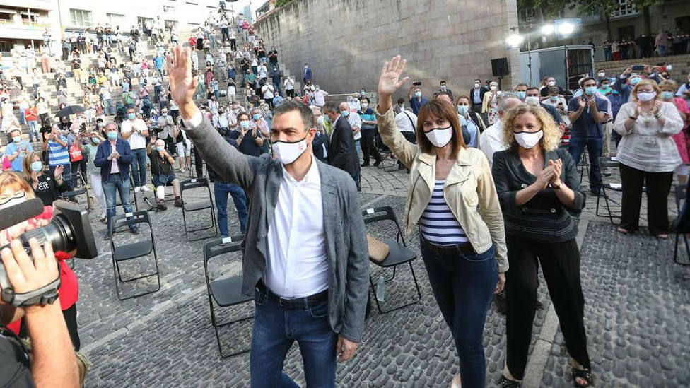 La vicelehendakari, Idoia Mendia, acompañará a Sánchez en el acto simbólico de destrucción de armas de ETA