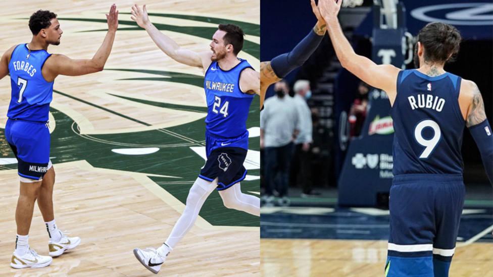 Los Bucks arrollan a Indiana sin Antetokounmpo; derrota de Minnesota ante Oklahoma