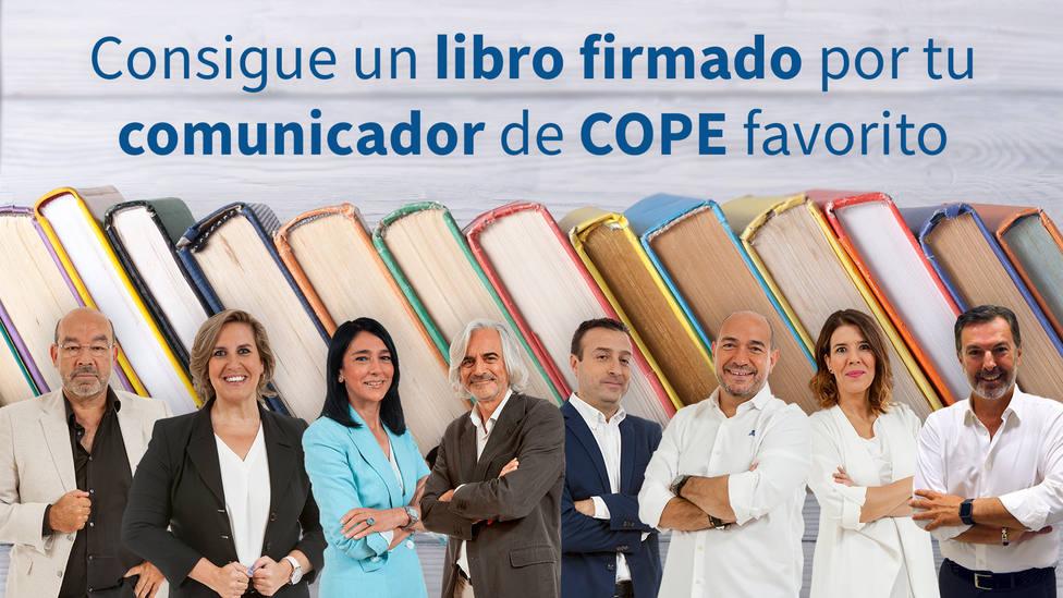 Consigue este 23 de abril un libro firmado por tu comunicador de COPE favorito: ¿cuál regalarías tú?