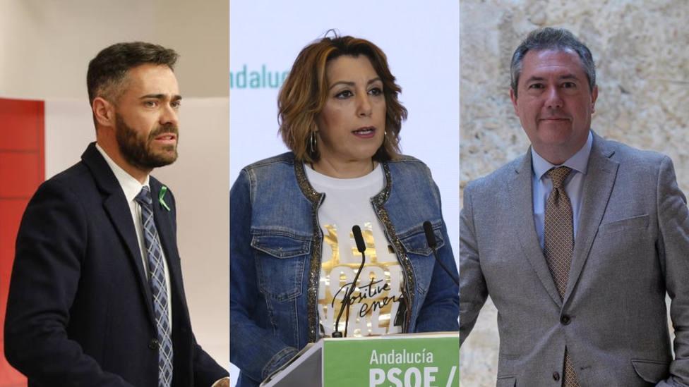 Primarias del PSOE en Andalucía: Los rivales sanchistas que quieren acabar con Susana Díaz