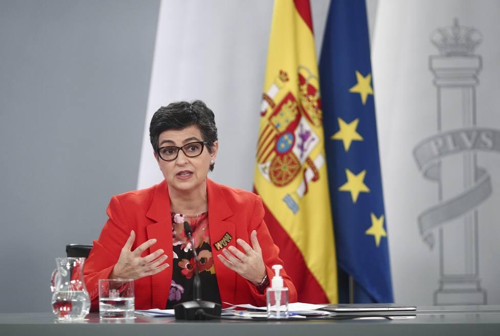 González Laya traslada a la embajadora marroquí el disgusto del Gobierno por la crisis en Ceuta