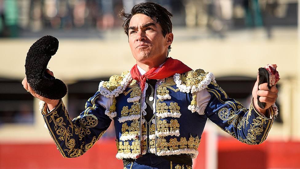 Domingo López Chaves, en una imagen de archivo, ha cortado la única oreja en la matinal de Vic Fezensac