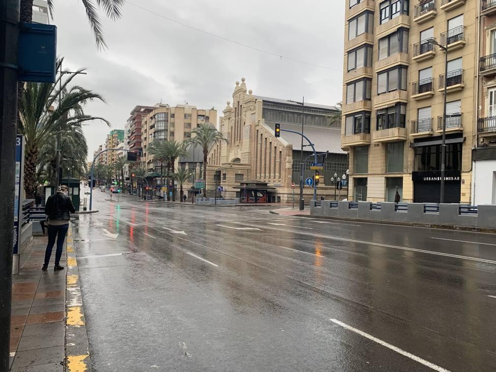 Tercer día de julio más lluvioso en Alicante desde hace casi un siglo
