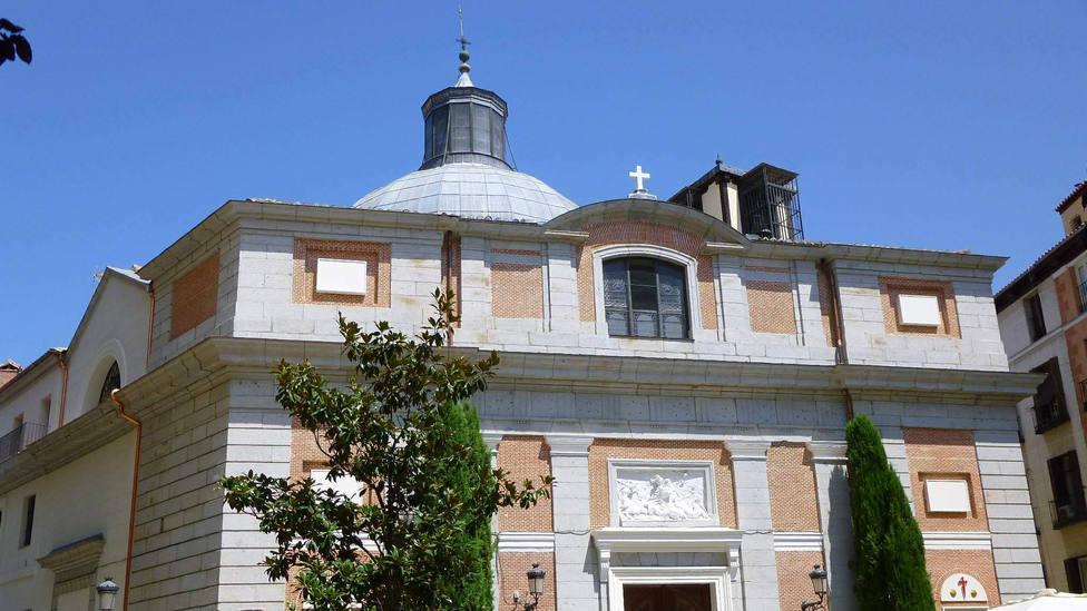 """La Iglesia de Santiago, punto de partida del Camino en Madrid: """"Cada vez tiene más peregrinos"""""""