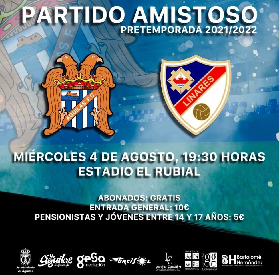Cuarto amistoso de pretemporada para el Águilas FC de Molo