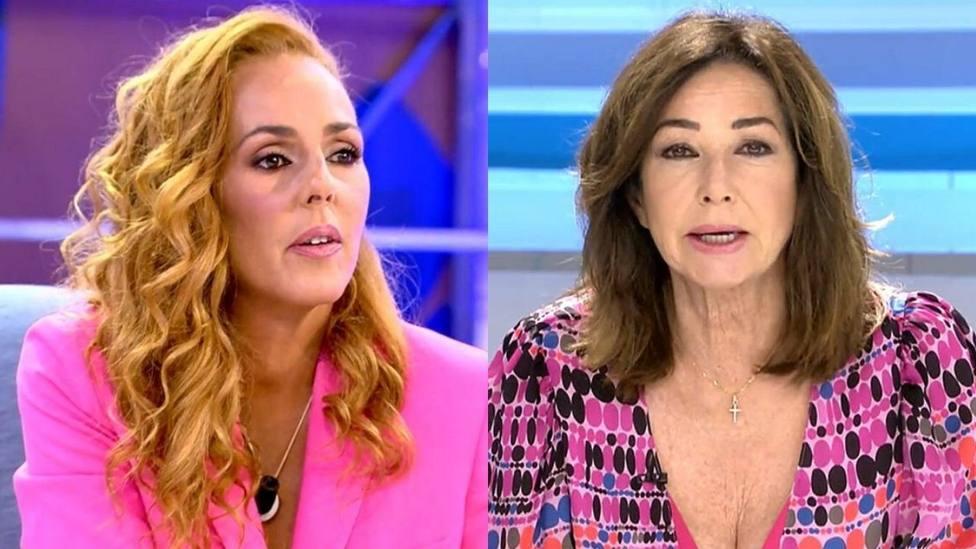 Rocío Carrasco y Ana Rosa Quintana