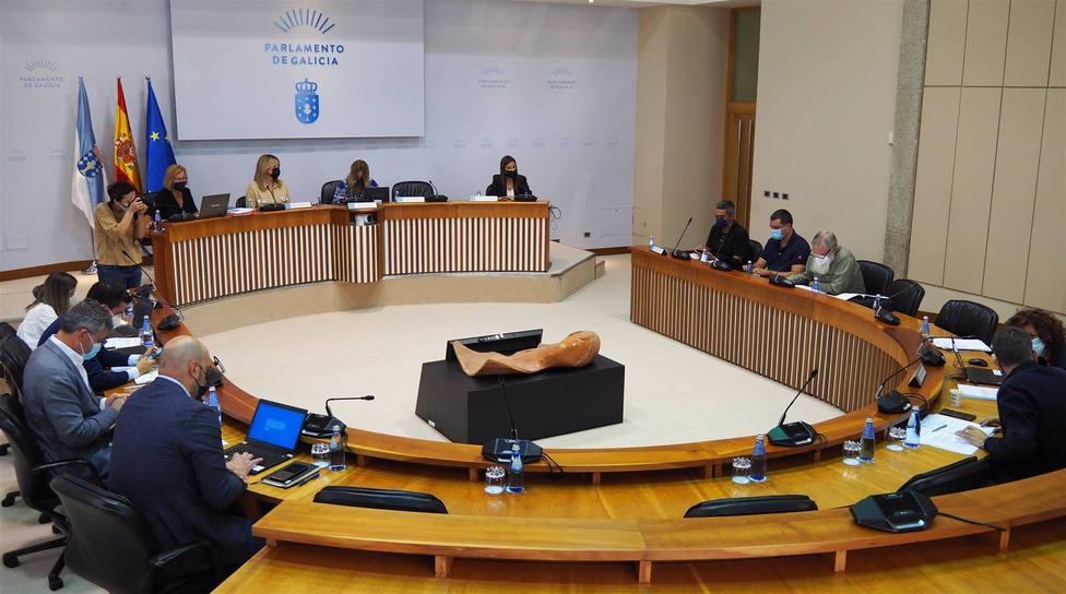 Comisión de Industria en el Parlamento Gallego. FOTO: Europa Press