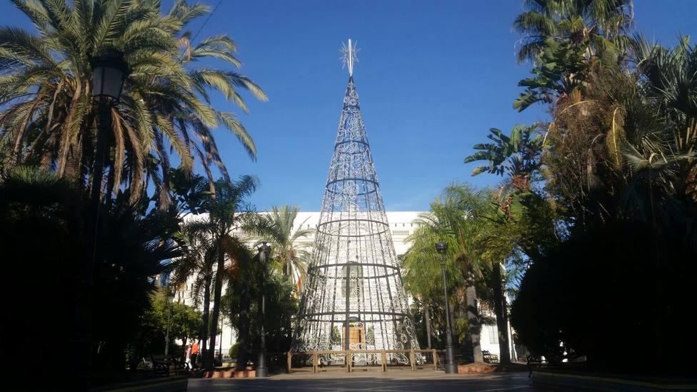 Ayuntamiento de El Puerto de Santa María en Navidad