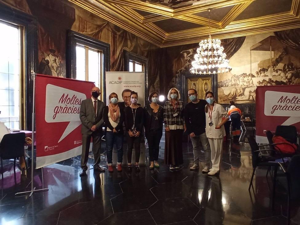 El Ayuntamiento de Barcelona acoge la primera maratón de donación de plasma de la ciudad