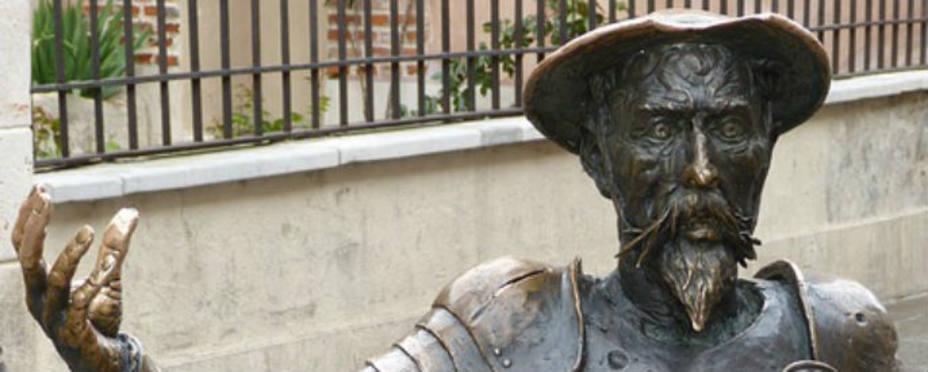 Monumento dedicado a Don Quijote de La Mancha. Foto Pixabay