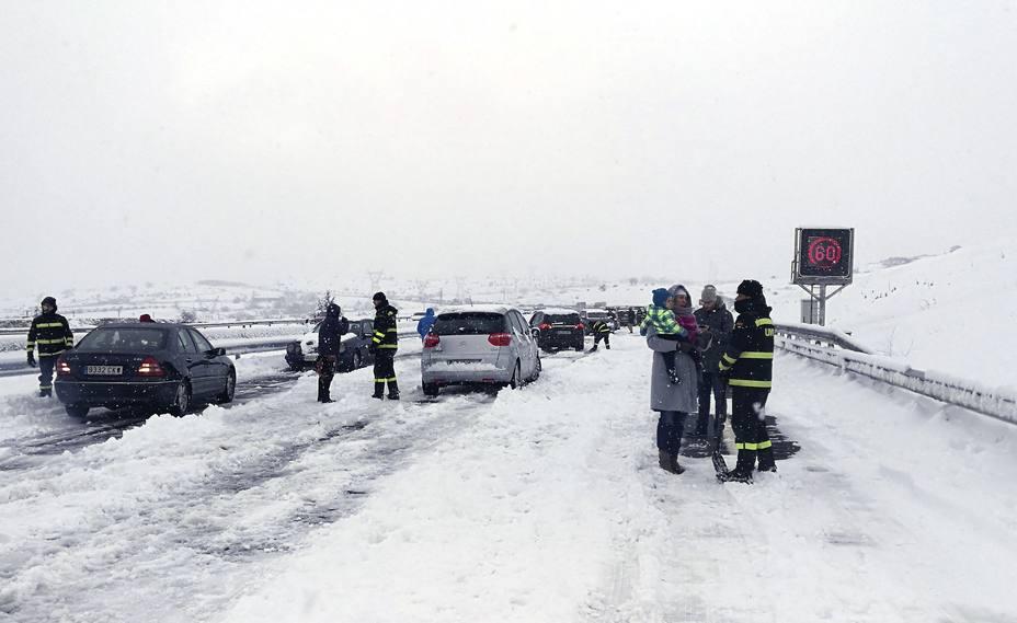 El temporal deja a 37 provincias de España afectadas