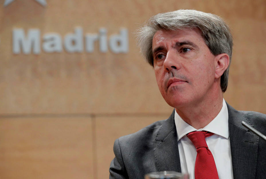 Ángel Garrido, presidente de la Comunidad de Madrid en funciones. EFE