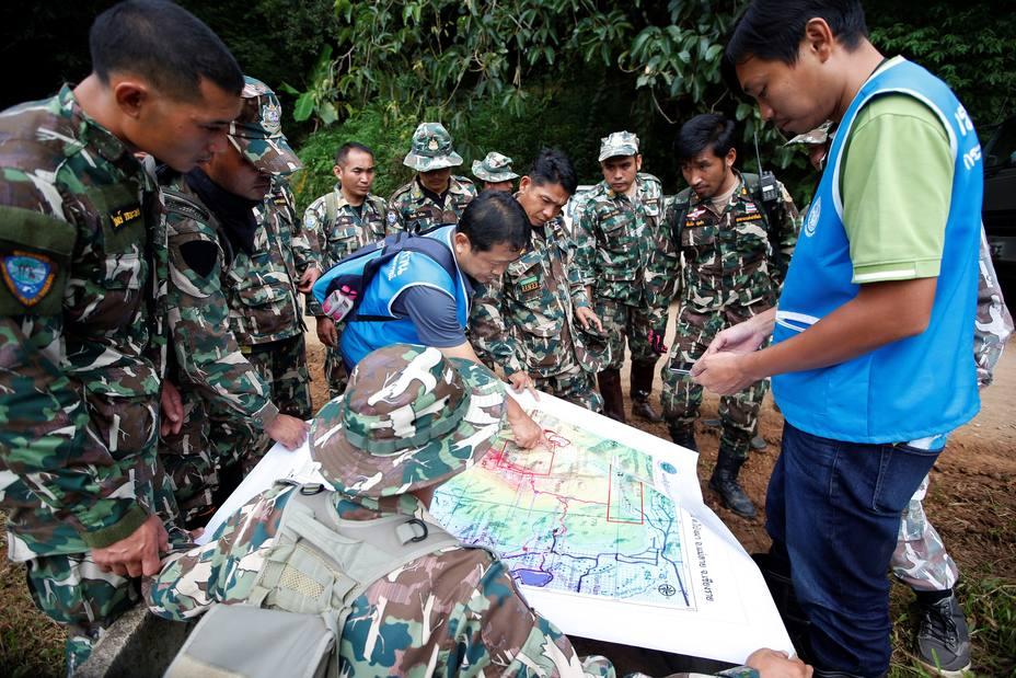 Las autoridades ven condiciones favorables para el rescate en Tailandia