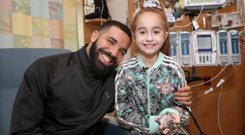 El rapero Drake con Sofía   YOUTUBE