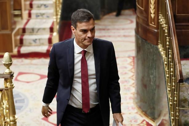 El presidente del Ejecutivo, Pedro Sánche. Archivo