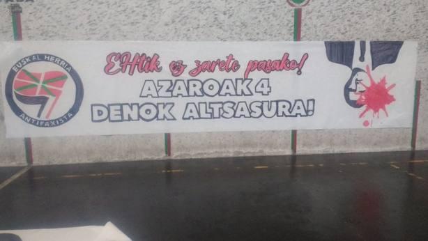 Pintada contra Albert Rivera en Alsasua. Twitter