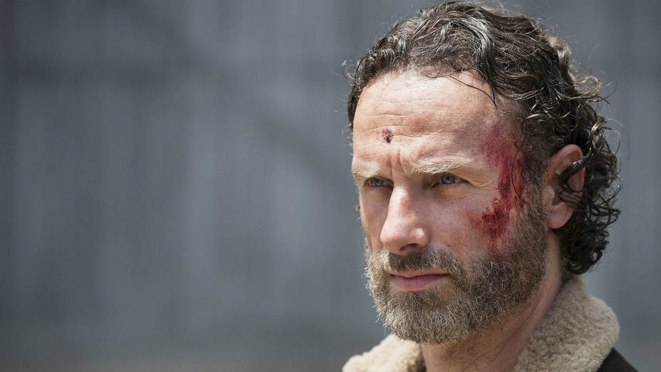 El actor Andrew Lincoln