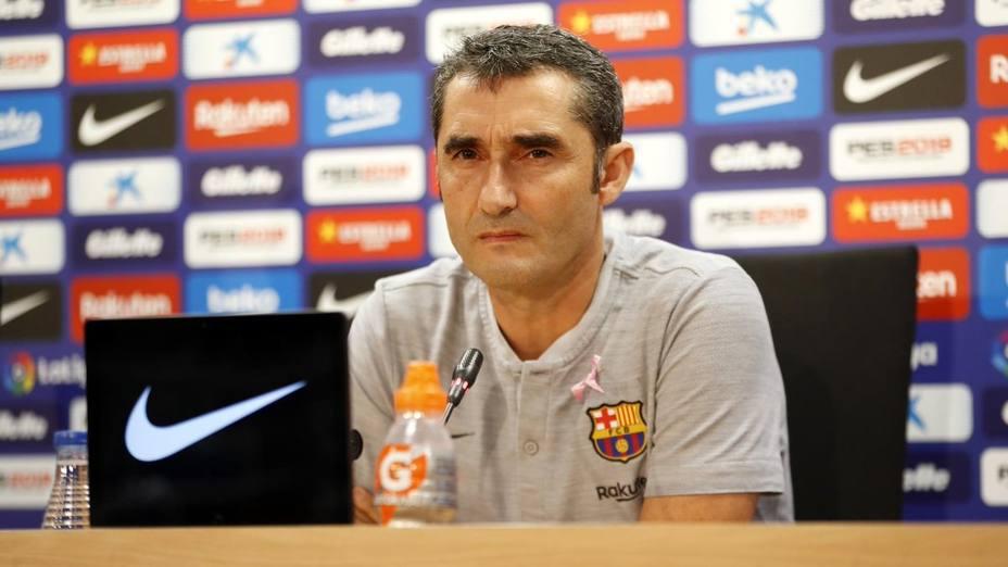 Valverde, sobre el descarte de Dembélé: Intento hacer lo mejor para mi equipo y para mi club