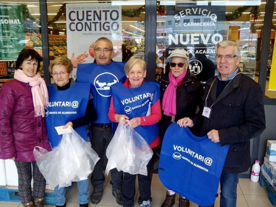 La Gran Recogida del Banco de Alimentos de La Rioja supera las cifras de 2017