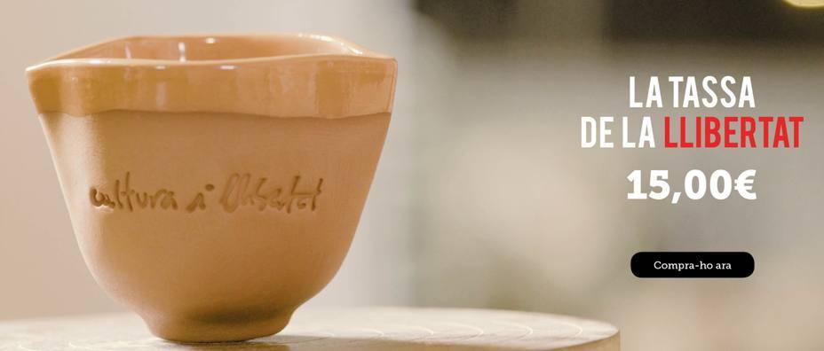 La pieza de cerámica