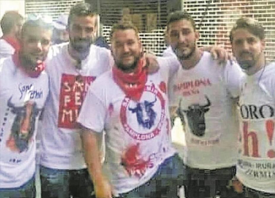 La Fiscalía solicita el ingreso en prisión de los cinco miembros de La Manada