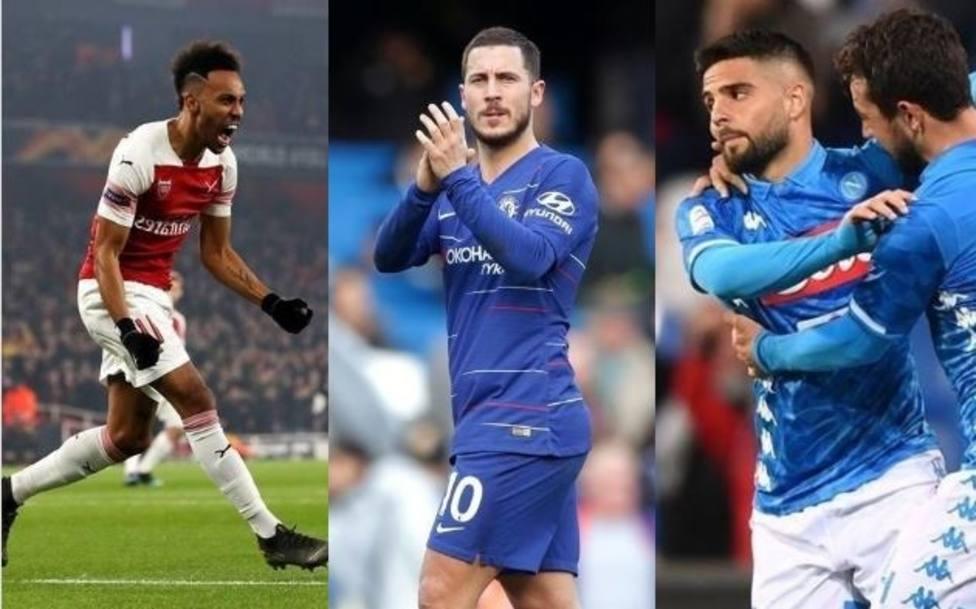 Arsenal, Nápoles y Chelsea, rivales a evitar para Valencia y Villarreal