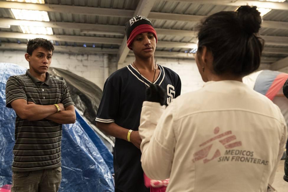 MSF denuncia que las redadas y detenciones masivas en México condenan a los migrantes a la clandestinidad