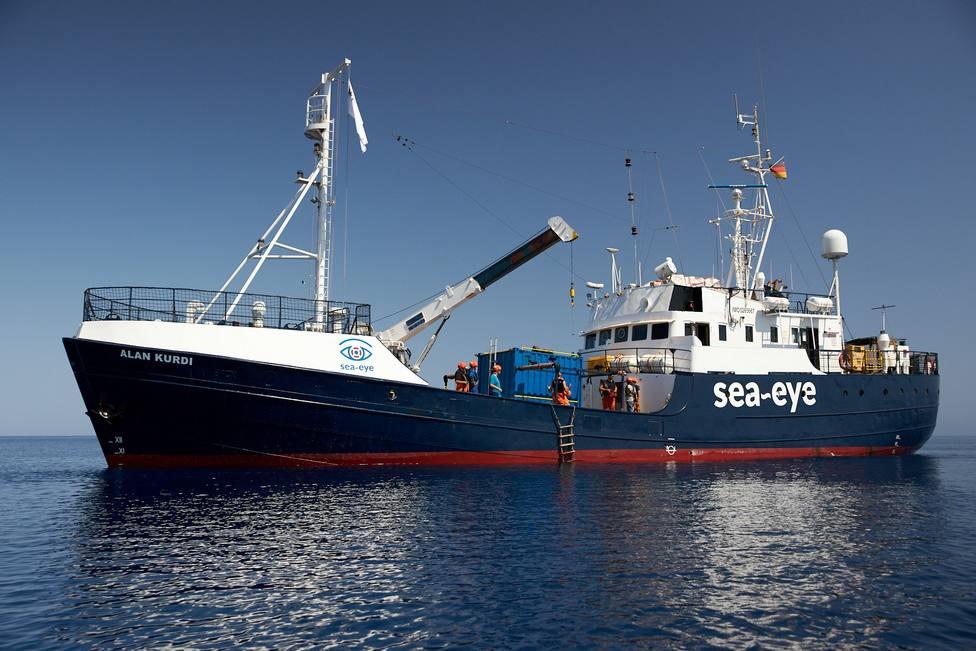 El Alan Kurdi reanudará a finales de mes su misión de salvamento marítimo
