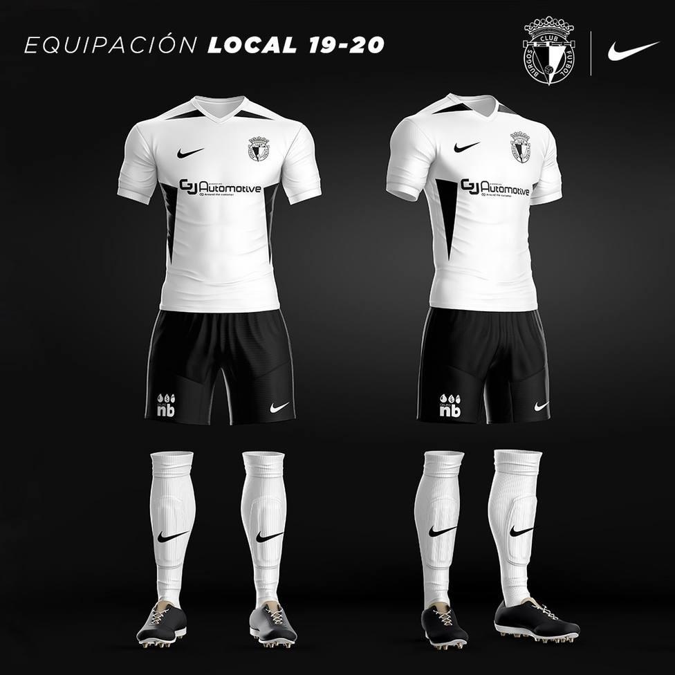 Camiseta del Burgos CF 2019-2020