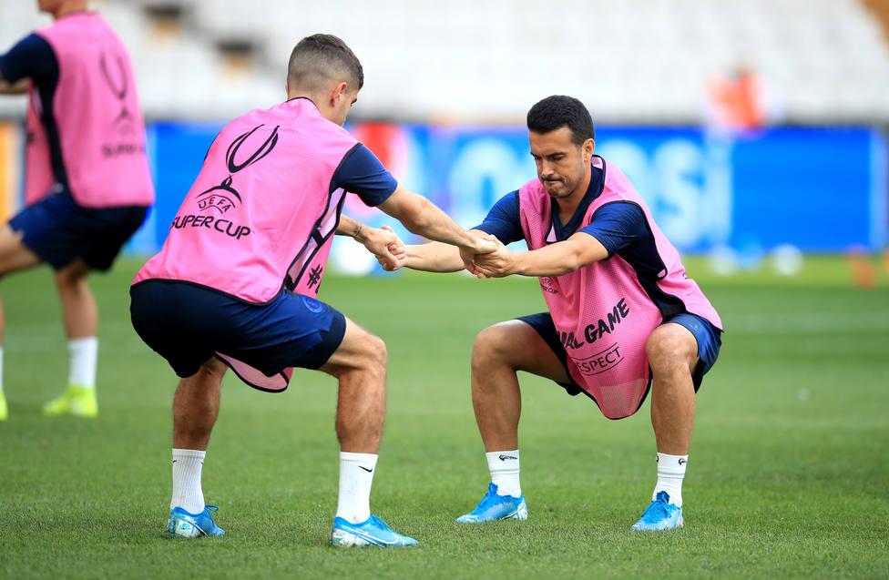 Pedro aclara que Piqué es el mejor defensa en activo por delante de Ramos y Van Dijk