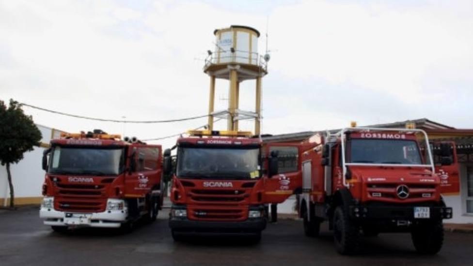 Los parques de bomberos de la Diputación, bajo mínimos