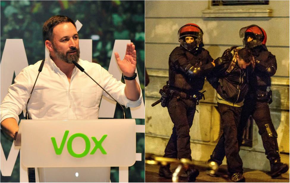 """Abascal clama contra TVE por """"culpar"""" a Ortega Smith de las cargas en el mitin de Vox en Bilbao"""