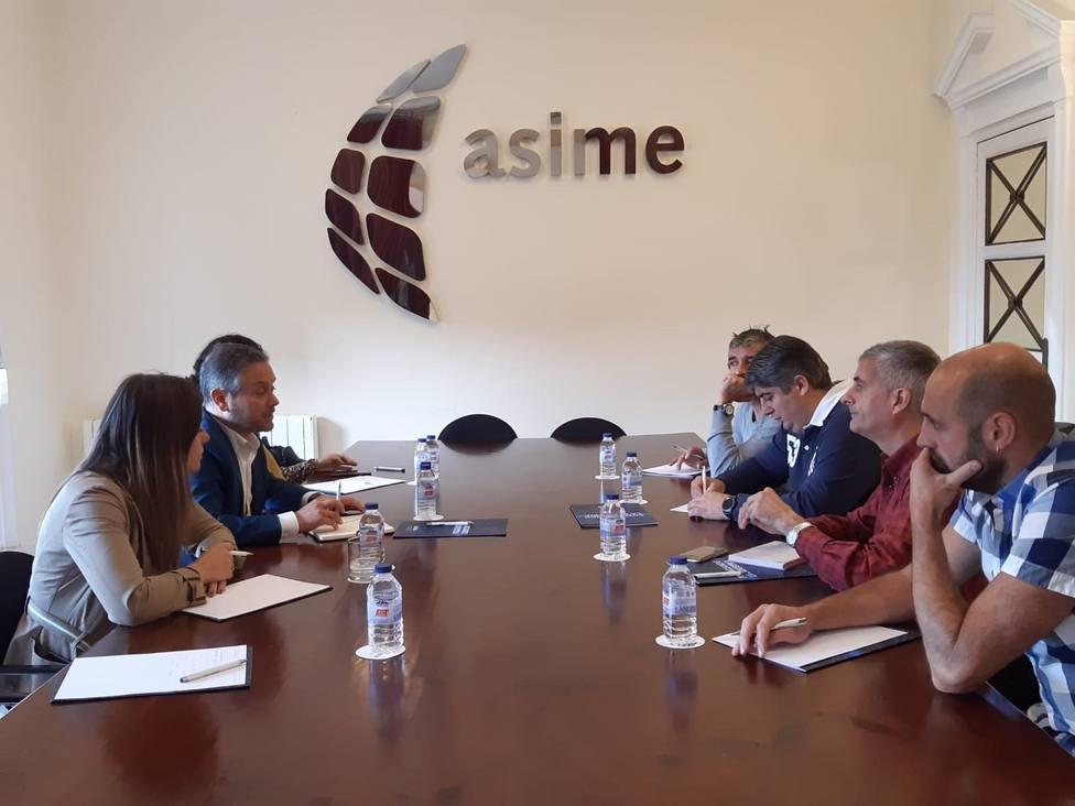 Reunión ASIME - Sindicatos