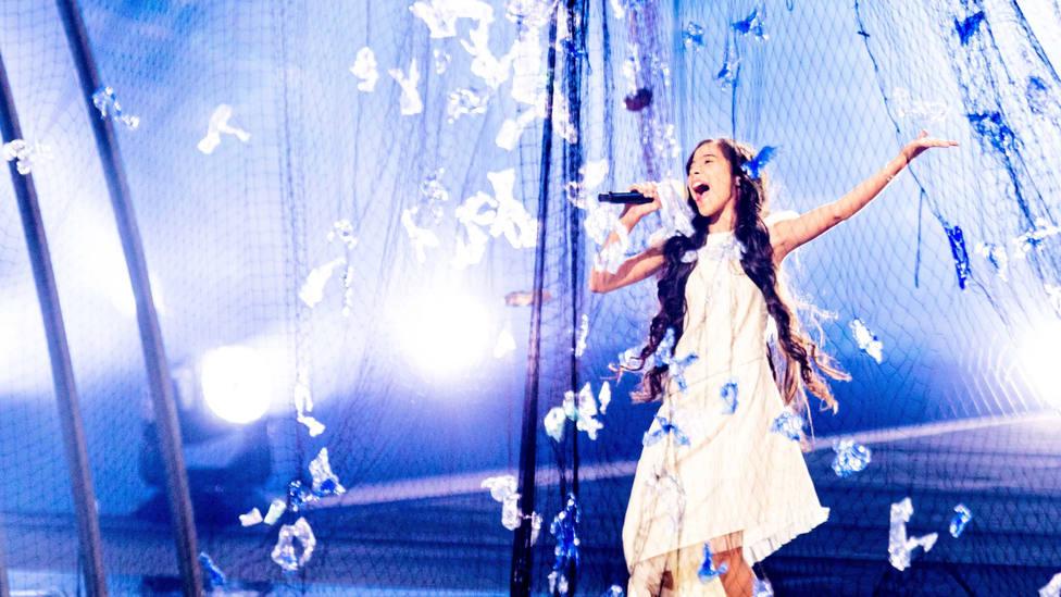 Melani deslumbra a Europa con un tercer puesto en el regreso de España a Eurovisión Junior