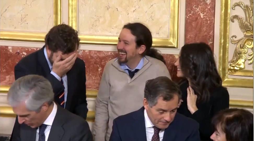 García Egea carga contra Vox y Espinosa de los Monteros por su 'colegueo' con Pablo Iglesias