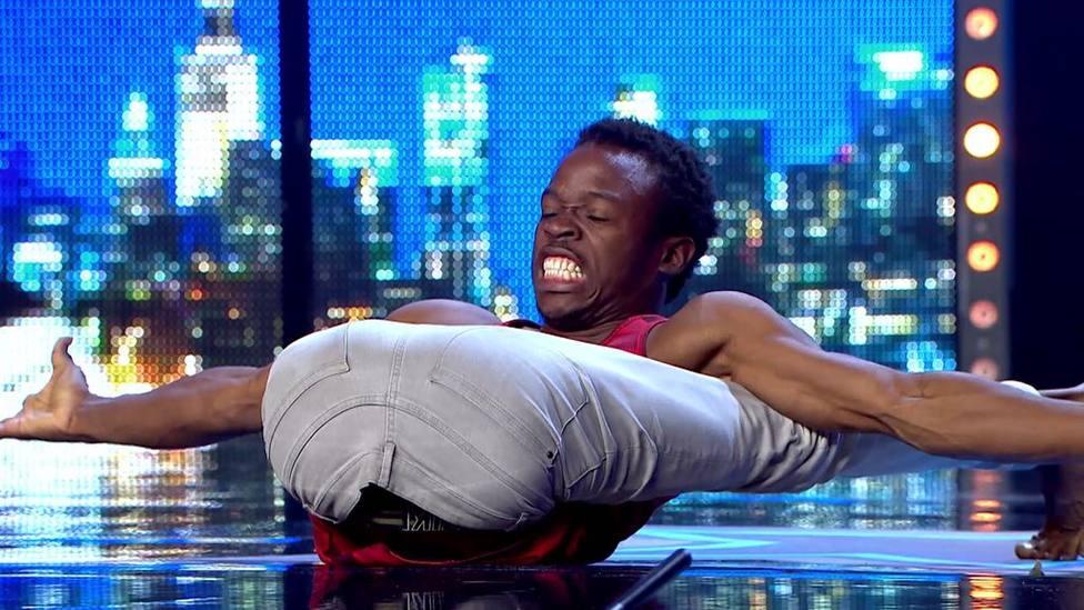 Así ha sido el impactante número de elasticidad de Papi Flex en Got Talent que ha sorpendido cero al jurado